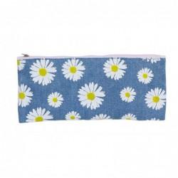 Estuche Tejano flores 22 cm