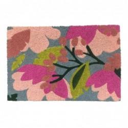 Felpudo Antideslizante Flores 70x40 cm