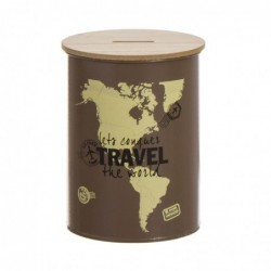 Hucha Metal Travel 10 cm