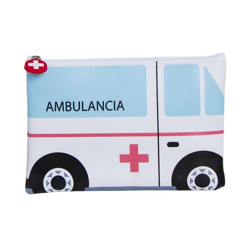 Neceser Plano Ambulancia Polipiel 22 cm