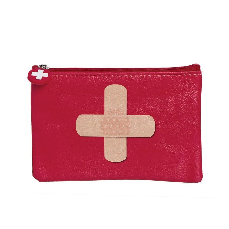 Neceser Plano Cruz Roja Polipiel 17 cm