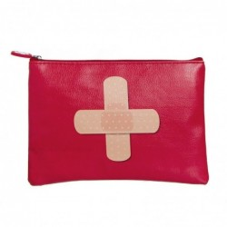Neceser Plano Cruz Roja Polipiel 22 cm