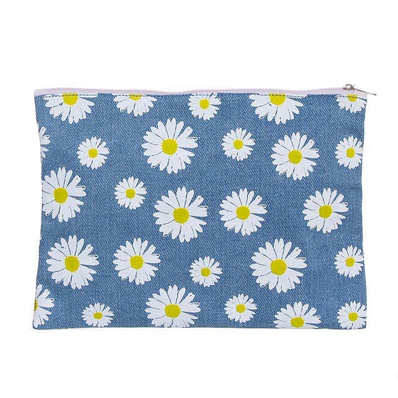 Neceser Plano flores 25 cm