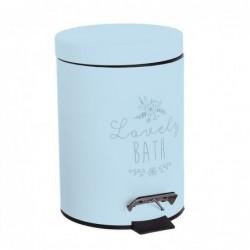 Papelera de Ba–o 3 litros Lovely Azul 24 cm
