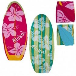 Pareo de Playa con Toalla x2 Tablas Surf 72x180 cm