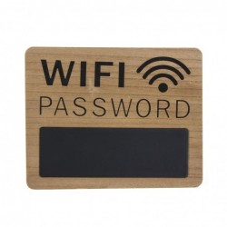 Pizarra Madera Contrase–a Wifi 28 cm