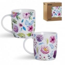 Taza Mug 350 ml x2 La Fiore Ceramica