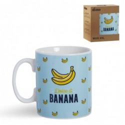 Taza Mug 600 Ml Banana 12 cm