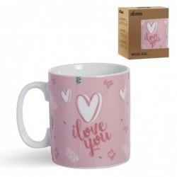 Taza Mug XXL Love 12 cm
