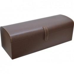 Caja para Guardar Cinturones 5 unidades Polipiel Marron 38 cm