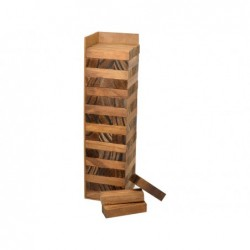 Juego de Mesa Jenga Madera 27 cm