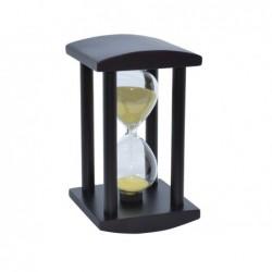 Reloj de Arena Base Madera 12 cm