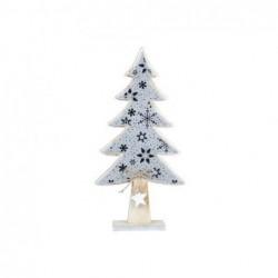 Arbol Navidad Decorativo 30 cm Blanco