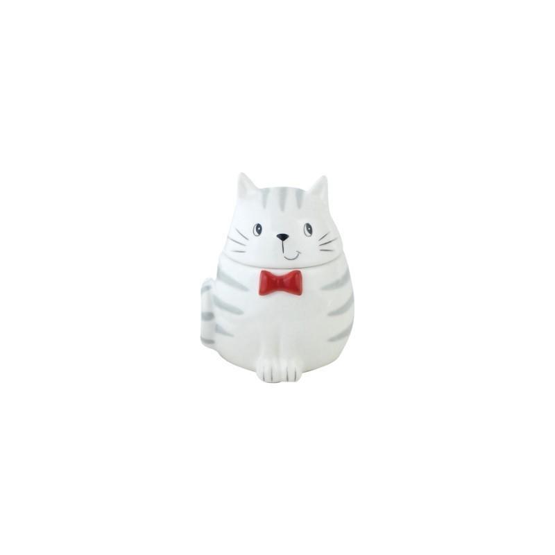 Caja Ceramica Gato 12 cm