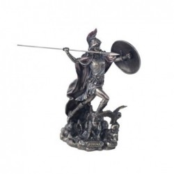 Figura Decorativa clasica Dios Griego Athena Resina 19 cm