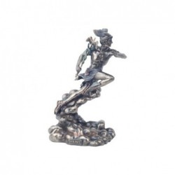 Figura Decorativa clasica Dios Griego Hermes Resina 21 cm