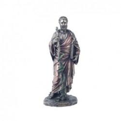 Figura Decorativa clasica Dios Griego Hippocrates Resina 25 cm