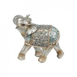 Figura Decorativa Elefante Resina 16 cm