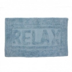 Alfombra de Baño Relax Azul 70x45 cm