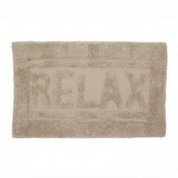 Alfombra de Baño Relax Marron 70x45 cm