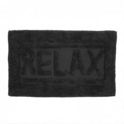 Alfombra de Baño Relax Negro 70x45 cm