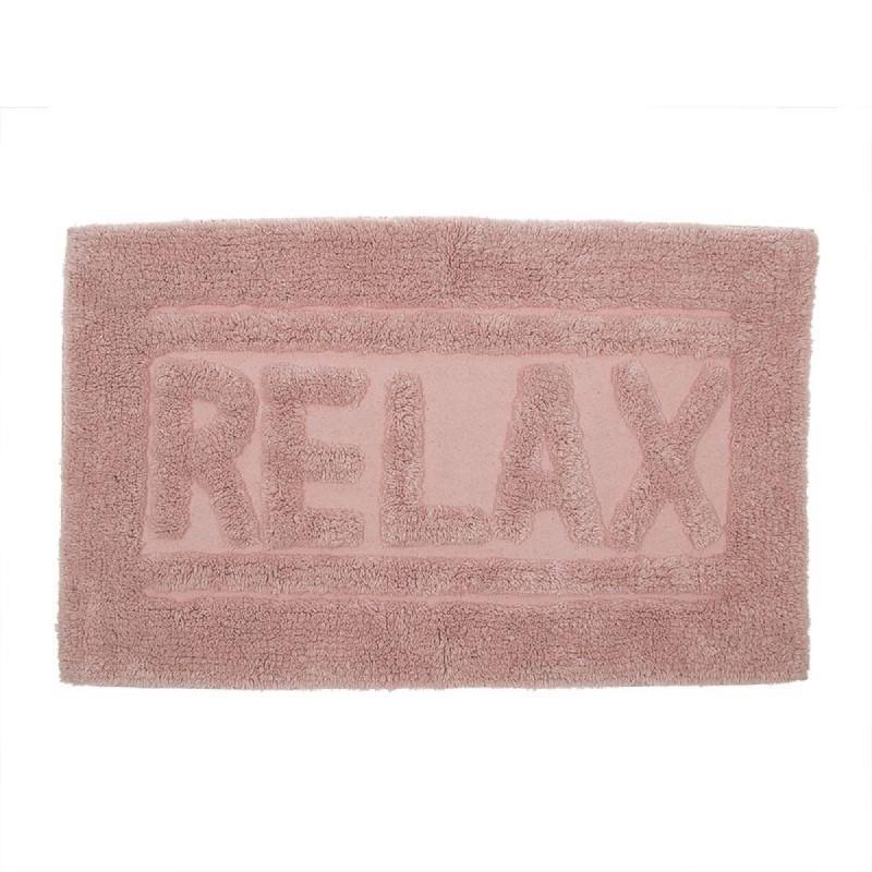 Alfombra de Baño Relax Rosa 70x45 cm