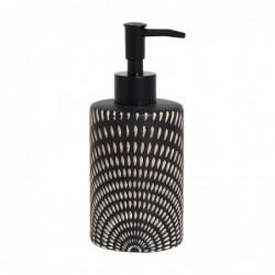 Dispensador Jabon Baño Etnic Ceramica 15 cm