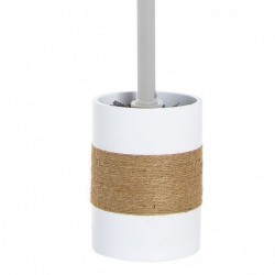 Escobillero WC Blanco Resina 36 cm