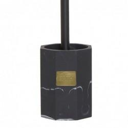 Escobillero WC Negro Resina 36 cm