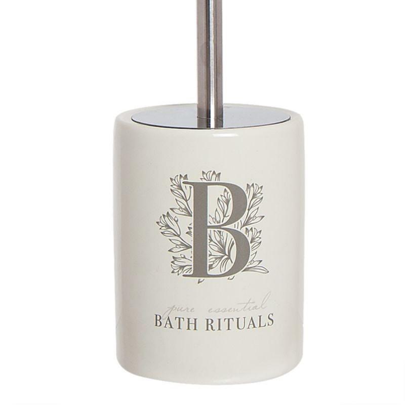 Escobillero WC Rituals Blanco Resina 33 cm