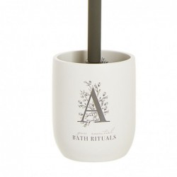 Escobillero WC Rituals blanco Resina 37 cm