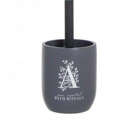 Escobillero WC Rituals Negro Resina 37 cm
