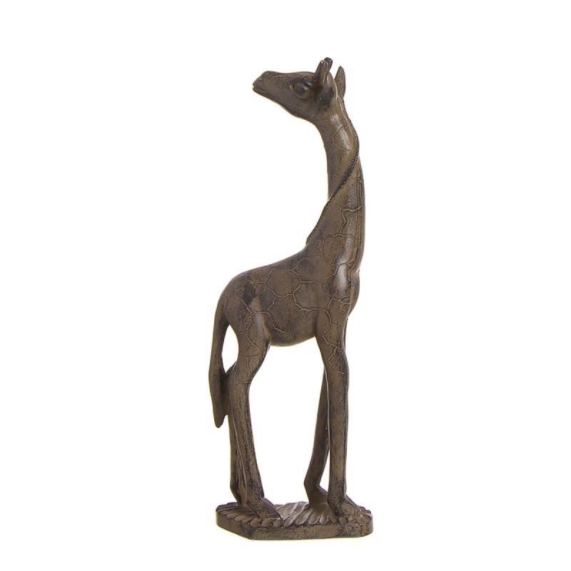 Figura Decorativa Elefante Resina Marron 33 cm
