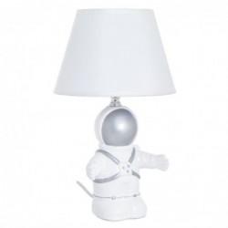 Lampara de Mesa Infantil Astronauta blanco 17 cm
