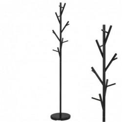 Perchero Metal Arbol Negro 170 cm