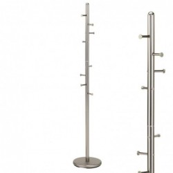 Perchero Metal Gris 172 cm