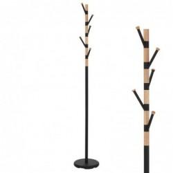Perchero Metal y Madera Cactus Marron 177 cm