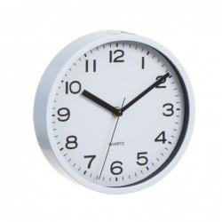 Reloj de Pared Redondo Blanco 20 cm