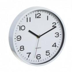 Reloj de Pared Redondo Blanco 25 cm