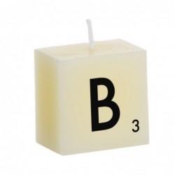 Vela Decorativa Letras B 5 cm