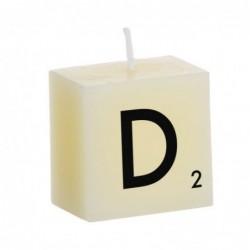 Vela Decorativa Letras D 5 cm