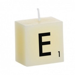 Vela Decorativa Letras E 5 cm