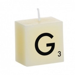 Vela Decorativa Letras G 5 cm
