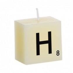 Vela Decorativa Letras H 5 cm