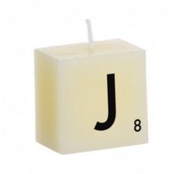 Vela Decorativa Letras J 5 cm