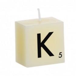Vela Decorativa Letras K 5 cm