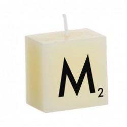 Vela Decorativa Letras M 5 cm