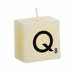 Vela Decorativa Letras Q 5 cm