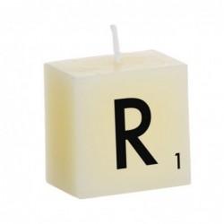 Vela Decorativa Letras R 5 cm