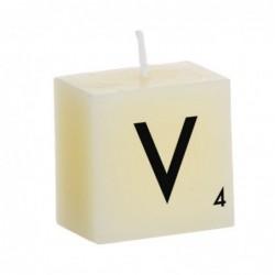 Vela Decorativa Letras V 5 cm